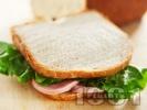 Рецепта Хляб за сандвичи за хлебопекарна